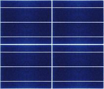seamless texture of solar panel closeup - stock photo