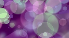 Colorful Bokeh Background. 4K animation - stock footage