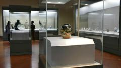 Art Japanese Asian Collection At National Museum Tokyo Japan Asia Stock Footage