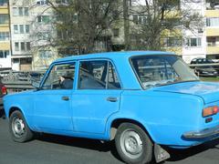 Old Soviet Car Stock Photos