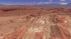 Atacama, Chile - August 22, 2015: Atacama Valle De La Luna Desert Stock Footage