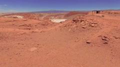 Atacama, Chile - August 22, 2015: Atacama desert Stock Footage