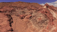 Atacama, Chile - August 22, 2015: Atacama Desert In Chile - stock footage