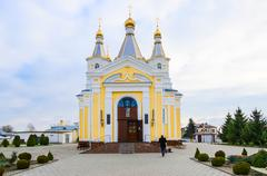 Cathedral of St. Alexander Nevsky, Kobrin, Belarus - stock photo