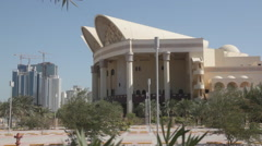 Isa Cultural Center in Manama, Bahrain. Stock Footage