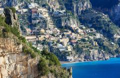 Positano, Amalfi Coast, Italy. - stock photo