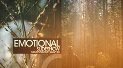 Emotional Photoslide Stock After Effects