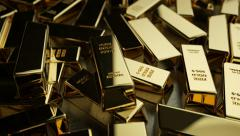 Global Economy - Gold Stock Footage