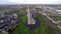 Saint Marys Church Nenagh Stock Footage