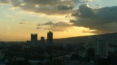 Sunset time lapse from Cebu city Stock Footage