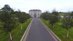County Arms Hotel Birr Stock Footage