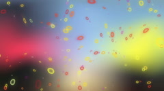 Motion footage particles Stock Footage