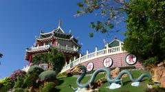 Cebu Taoist Temple - stock footage