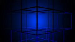 Cube Arrays Loop 5 Stock Footage