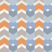 Geometry hexagonal vector seamless pattern. Stock Illustration