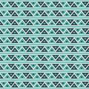 geometry vector pattern. triangle seamless ornament - stock illustration