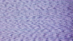 Noise on TV screen. Stock Footage