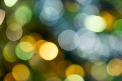 Holiday party defocused lights Stock Photos