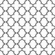 Vector ornamental pattern - seamless. Stock Illustration