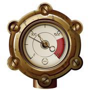 Measuring device Stock Illustration