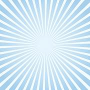 Blue sunlight background. - stock illustration