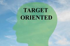 Target Oriented concept Stock Illustration
