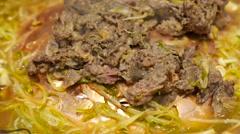 Cooking Bulgogi Stock Footage