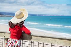 Stock Photo of beautiful  traveler