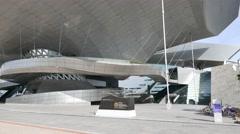 Busan Cinema Center - stock footage