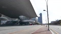 Busan Cinema Center Stock Footage