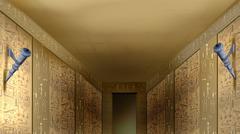 Egyptian Hieroglyphics - stock illustration