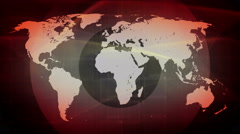 Technology network connect background 4K red Stock Footage