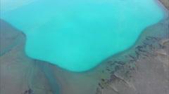 Norwegian fjord coastline Stock Footage
