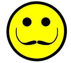 Dali Artist Smiley Stock Illustration