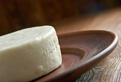 Circassian cheese Stock Photos