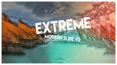 Stock After Effects of Extreme Modern Slide V2