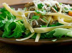 Tex-Mex taco salad - stock photo
