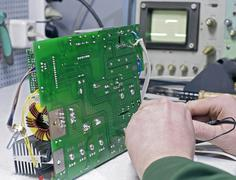Test electronic devices of oscilloscope Kuvituskuvat