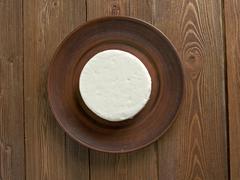 Circassian cheese - stock photo