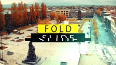 Stock After Effects of Fold Slide