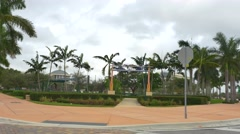 Downtown Doral Park Stock Footage