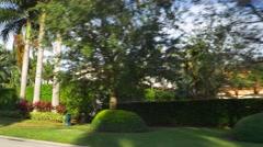 Golden Beach luxury homes - stock footage