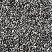 Activated carbon - stock photo