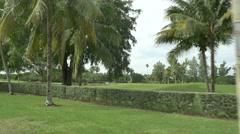 Miami Beach golf club 4k Stock Footage