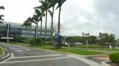 Office complex Downtown Doral FL Stock Footage