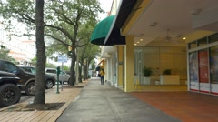 Streets of Coral Gables FL Stock Footage