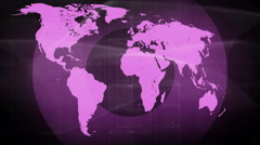 Technology network connect background 4K purple Stock Footage