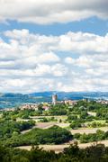 Montpeyroux, Puy-de-Dome Department, Auvergne, France Stock Photos