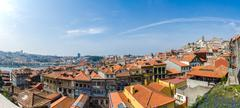 Stock Photo of View of Porto city on summer day