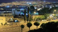 Tiberias Time lapse. Stock Footage